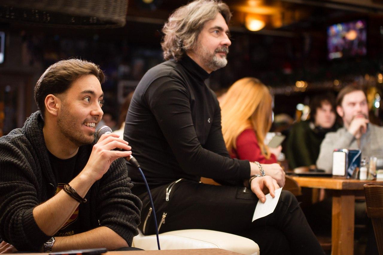 Александр Лучков и Дмитрий Поваляев